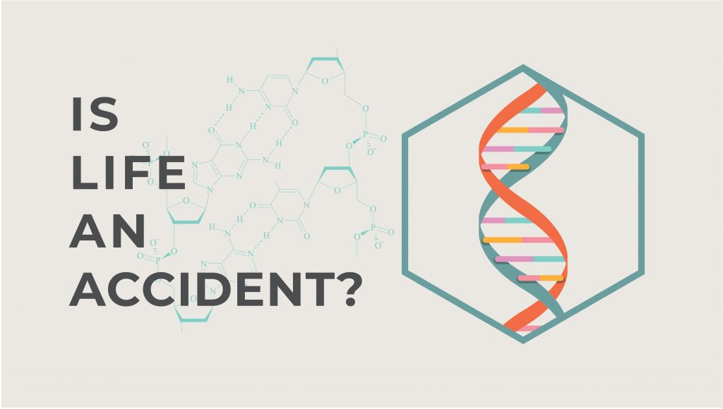 Proof God exists - Is life and accident?