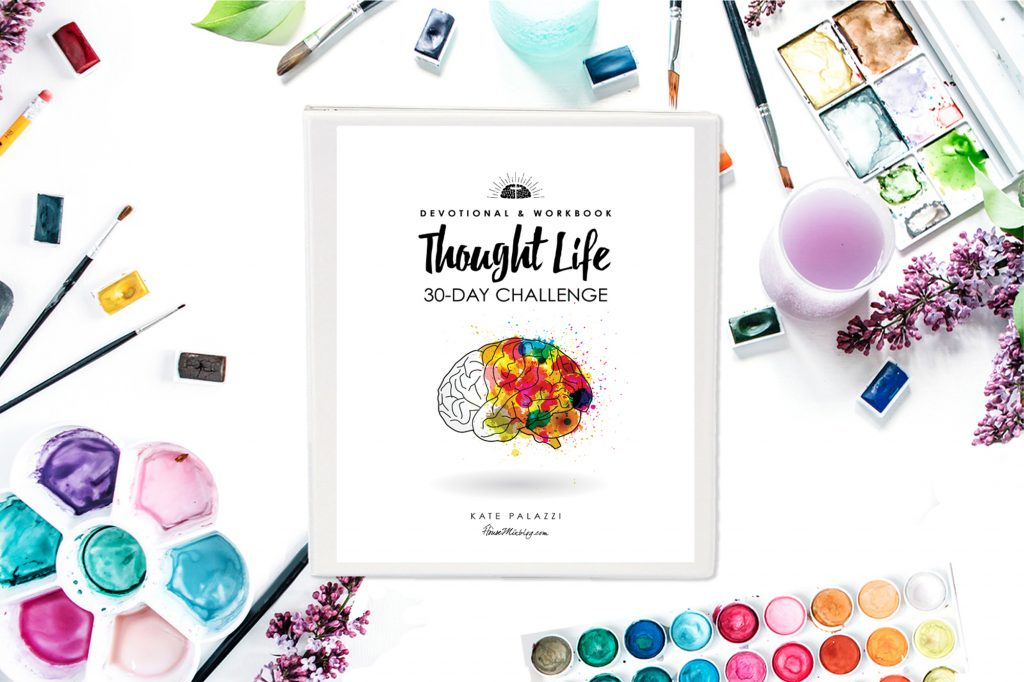 Thought life 30 day challenge devotional and workbook