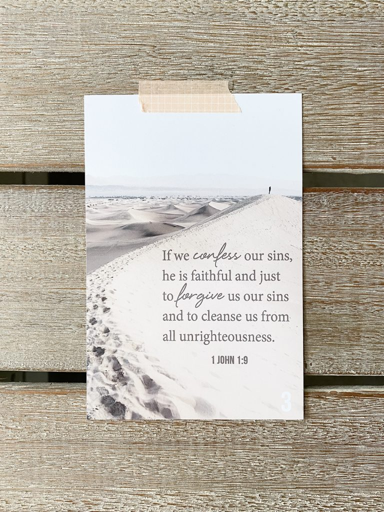 Free Bible verse memory cards - 1 for each week of the year!